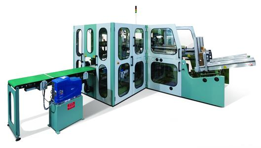 The highly configurable Model 163 case packer/lidder packs its greater end-product quality into a small space, to replace less capable machines in any facility.
