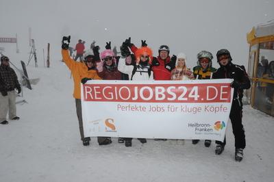 """Gute Stimmung und tolle Jobs bei Europas höchster Jobmesse """"Studenten on Snow"""" im Pitztal"""