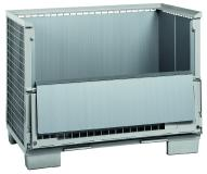 Die Gitterboxauskleidung aus PP-Hohlkammerplatten von Söhner Kunststofftechnik ist äußerst robust, feuchtigkeitsbeständig und kann im Gegensatz zu Einwegvarianten mehrfach wieder verwendet werden.
