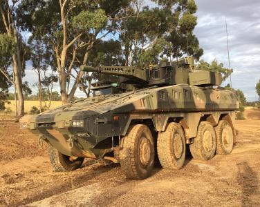 Rheinmetall Boxer CRV Outback