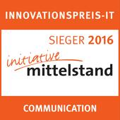 "Innovationspreis-IT 2016: FastViewer belegt den 1. Platz in der Kategorie ""Communication"""