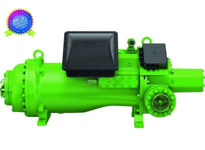 HS95螺杆式压缩机系列荣获奖项肯定,适用于中低温制冷以及空调、热泵和船舶应用
