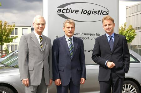 v. l. n. r.: Christian Schmidt, Heinz Janßen, Prof. Dr. Ulrich Müller-Steinfahrt