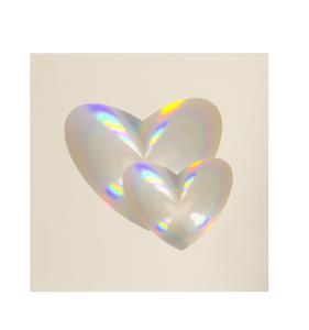 Einzelbild-Linse in Herzform