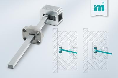 Schrägauswerfereinheit E 3248 für einfaches Entformen (Foto: Meusburger)