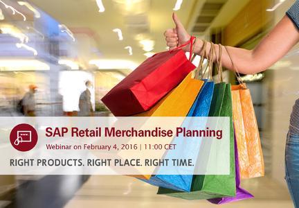Westernacher Webinar SAP Retail Merchandise Planning