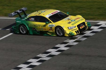Eye-catcher: Since 2011, a Schaeffler Audi has been competing in the DTM