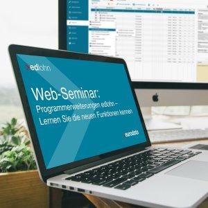 Web-Seminar edlohn Programmerweiterungen
