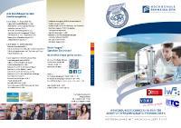 [PDF] Die Studienbroschüre «Anwendungstechniker/-in für Additive Verfahren/Rapid-Technologien» als PDF zum Download