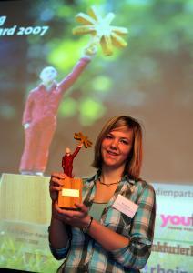 Ricarda Rust (Darmstadt) war beim NATURpur-Award erfolgreich