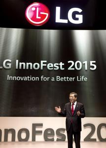 Head of LG Europe Brian Na Welcomes Guests to InnoFest 2015