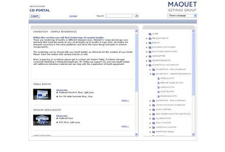 Netzgiganten MAQUET CD Portal