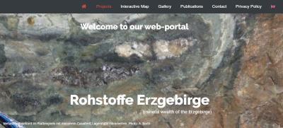 New portal www.rohstoffe-erzgebirge.de online