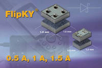 Vishay Introduces 0.5-A, 1.0-A, and 1.5-A Flip Chip Schottky Diodes in Industry-First FlipKY® Chip Scale Package