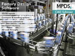 MPDS4 software for 3D factory design