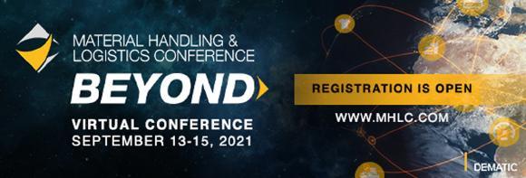 Dematic veranstaltet vom 13. bis zum 15.September 2021 die zweite virtuelle und globale Material Handling & Logistics Conference (MHLC). (Foto: Dematic)