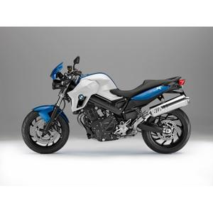 BMW F 800 R, Racing blue metallic/Alpine white