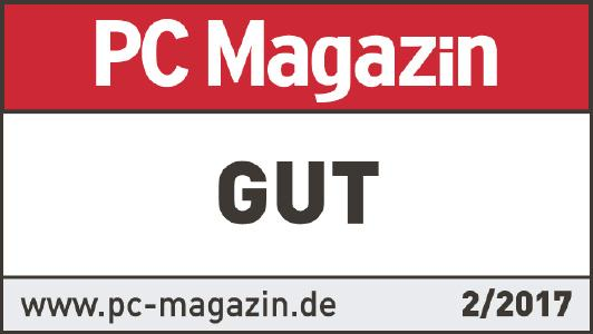 PC Magazin Testsiegel