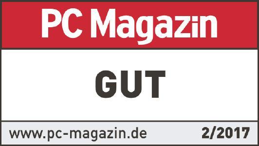 PC Magazin Testsiegel