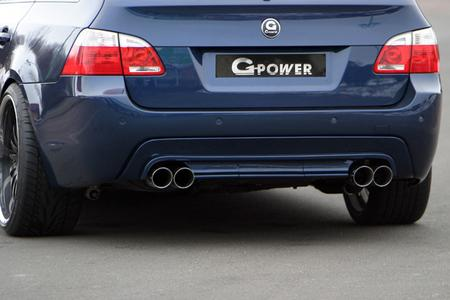 G-POWER 4-pipe-exhaust on 5series touring b