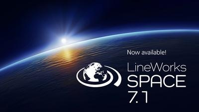 camLine releases the version 7.1 of LineWorks SPACE