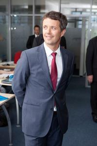 Hoher Besuch bei Ciklum in Kiev: Kronprinz Frederik von Dänemark