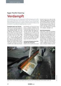 Auszug aus dem Magazin SAUBER - Magazin für Verkehrsmittelreinigung - ©SAUBER-Magazin für Verkehrsmittelreinigung 2019/04
