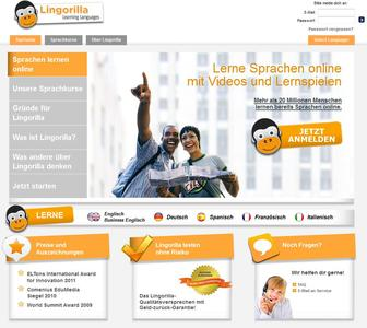 Lingorilla_Screenshot_Startpage.jpg