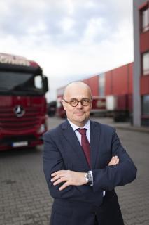 """""""Die Überraschung der Berufung ist gelungen. Umso mehr freue ich mich darauf, Impulse aus der mittelständisch geprägten Transport- und Logistikbranche einzubringen."""""""