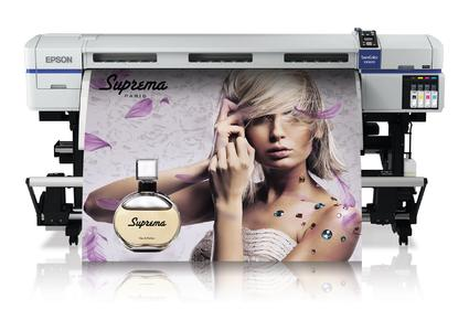 Prints with the new odourless and nickel-free Epson Ultra-Chrome GS2 ink: the SureColor SC-S30600 by Epson. The Neschen media solvoprint nolite 175 CA and solvoprint easy dot 100 PE matt are ready for use with this printer.