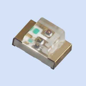Kingbright Bi-Color-LED im kleinen Gehäuse und mit breitem Abstrahlwinkel