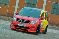 Ready to race : VANSPORTS by Hartmann Tuning presents the Mercedes- Benz Citan in a speedy Sports-Style