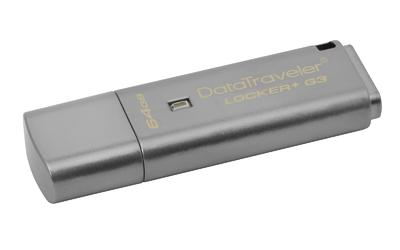 DataTraveler Locker + G3 64GB