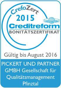 Logo CrefoZert Pickert & Partner