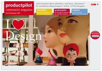 Die aktuelle Ausgabe des Productpilot Community Magazines ist online