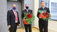 Ernennung Jagau Engel Schwieger. Foto Kreutz