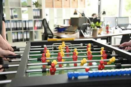 Beliebter Kickertisch bei Musterhaus.net