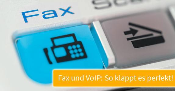 Fax-Anbindung bei VoIP-Telefonie: So machen Sie es richtig