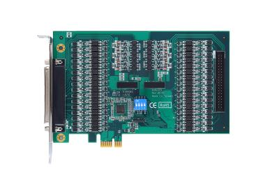 Platzsparende 64-Ch Digital Isolated I/O-PCI-Express-Karte – AX92351