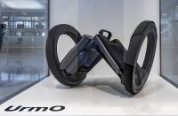 MCBW START UP Ausstellung von bayern design in Kooperation mit Flughafen München, UrmO, ein klappbares, selbstbalancierendes, elektrisches Kleinstfahrzeug von UrmO GmbH (München), Foto: FGM & Stephan Görlich