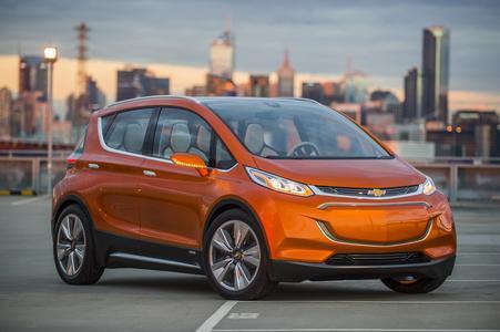GM und LG arbeiten zusammen am Chevrolet Bolt EV