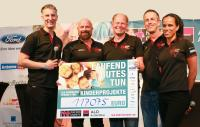 117.075 Euro Spendensumme beim 11. ALD RUN FOR CHARITY