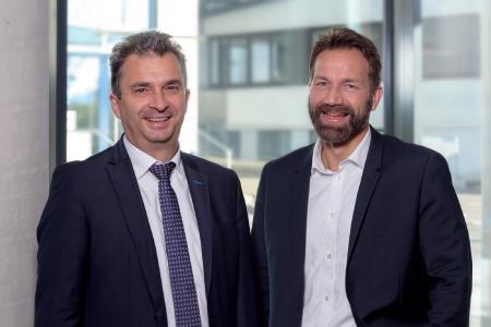 Dr. Christian Benz und Dr. Kai Numssen, Telegärtner