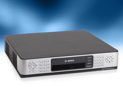 Divar XF Hybrid Videorekorder von Bosch: Der integrierte Digital-Videorekorder Divar XF von Bosch mit Hybridfunktionen bietet hohe Aufzeichnungsqualität und optimalen Schutz des aufgezeichneten Videos.