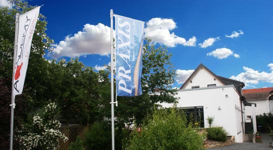 Das Schulungszentrum PRAXIS Academy in Pferdingsleben bei Gotha.