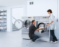 Triple savings with washer-extractors with weighing system and water recovery