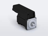 Fig. 1: With the decentralized drive concept b maXX 2500, Baumüller combines its tried-and-tested converters of the b maXX 3300 series with Baumüller servomotors