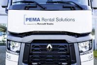 Die PEMA GmbH und Renault Trucks bieten mit PEMA Rent Flex ein Pay-per-Use Angebot für die Fernverkehrsbaureihe T an. Foto: © Renault Trucks