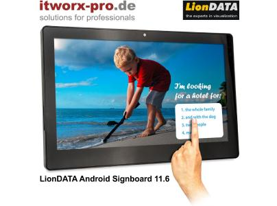LionDATA Android Signboard 11.6