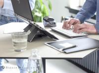Honeycomb Dlite Steh-Sitz-Tisch - Anwendung Office